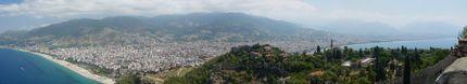 Алания - Поглед от крепостта