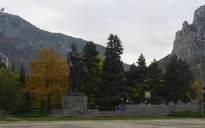 Паметникът на Христо Ботев 2.XI.2009г.