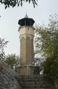 Часовниковата кула на Сахат тепе 24.X.2009г.