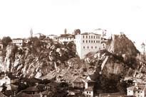 Поглед от върха на Сахат тепе към Джендем тепе 1930-1940г.